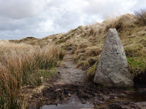 waypoint on the moor